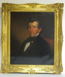 A portrait attributed by Gilbert Stuart, Lot 134 of the July 25 sale at Neapolitan Public Auction