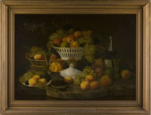 Important Still Life Painting by Paul Lacroix