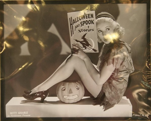 Vintage Paramount Photo Betty Grable, Perfect for Halloween