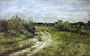 The Winding Road by George Hetzel Lot 557 at Concept Art Gallery upcoming auction