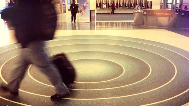 DFW Airport Art Terminal D Untitled by Ted Kincaid