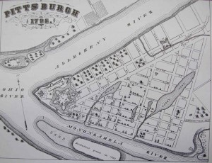 1795 Pittsburgh Map