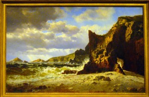 Marblehead Rocks, 1868 by Charles Temple Dix