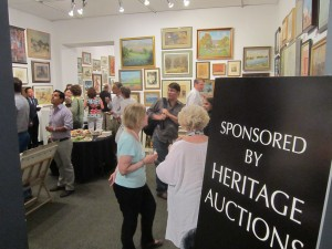Opening Reception at Texas Art Collector