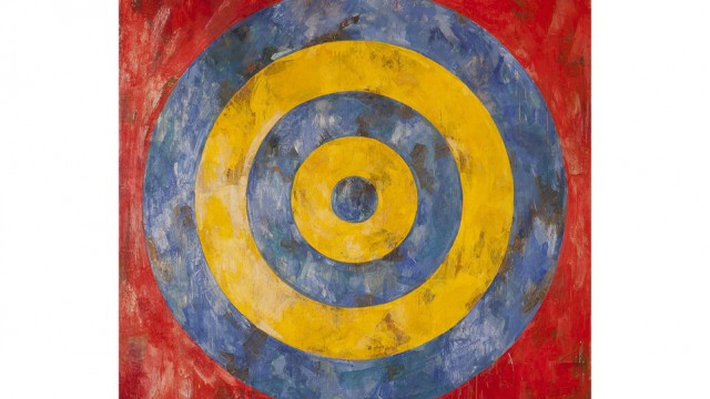 Jasper Johns. Target, 1961. Art Institute of Chicago
