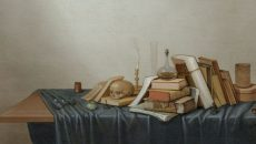 """Vanitas Still Life"" (1640-'90), by Gerrit van Vucht. (Photo: Milwaukee Art Museum)"