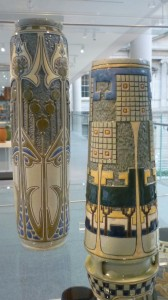 Art Pottery Vases Made at Zanesville, OH at Met
