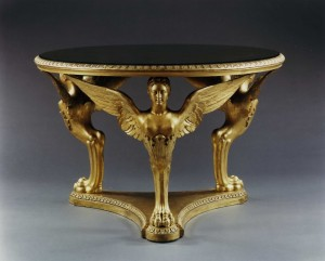 The Buckingham Palace Center Table Attributed to George Morant & Sons, English, circa 1840