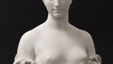 Conner • Rosenkranz, LLC. This marble bust Proserpine by American sculptor Hiram Powers depicts the ancient Roman goddess whose cult, myths, and mysteries were based on those of the Greek godesss Persephone and her mother Demeter, the deity of grain and agriculture.