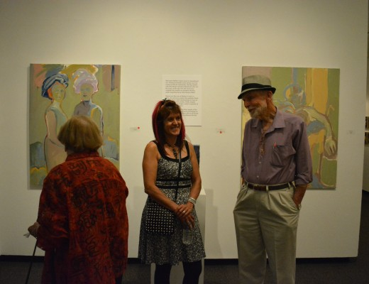 Opening of Strangers and Privileged Ignorance at Fort Worth Community Arts Center