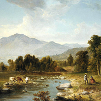 "High Point: Shandaken Mountains"" (1853), by Asher Brown Durand. Metropolitan Museum of Art"