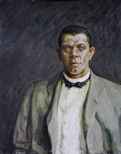 Henry Ossawa Tanner (1859-1937) Portrait of Booker T. Washington, 1917 Oil on canvas, 31 x 25 5/8 in., State Historical Society of Iowa, Des Moines, IA.
