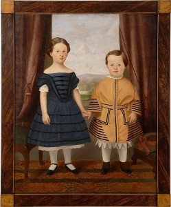 Full length portrait of a boy and a girl from Star Gallries
