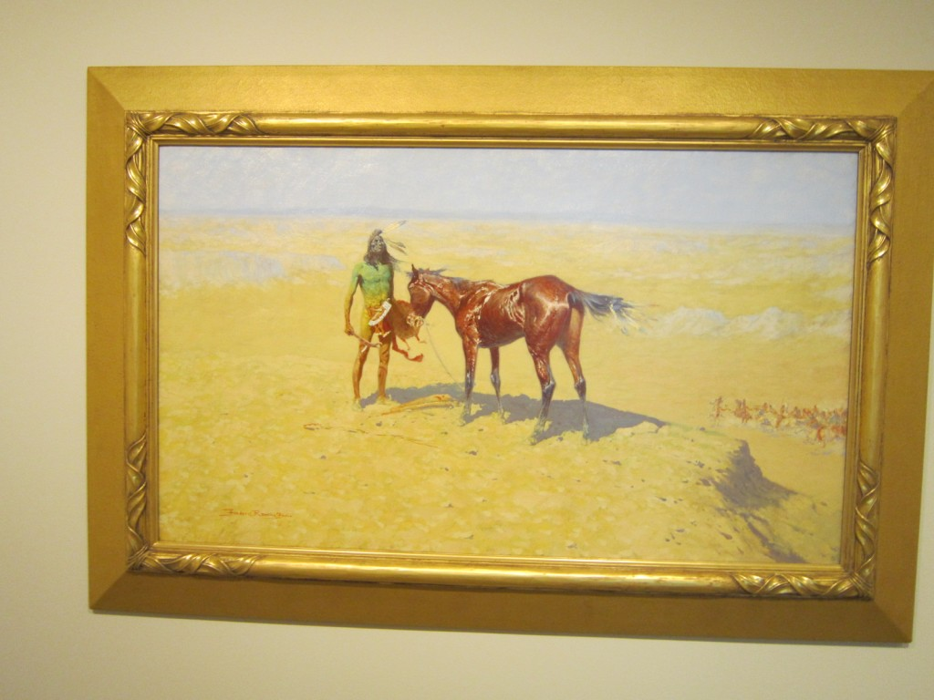 Frederic Remington Ridden Down
