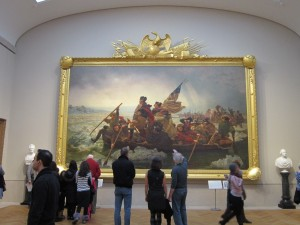 Leutze Washington Crossing the Delaware Met