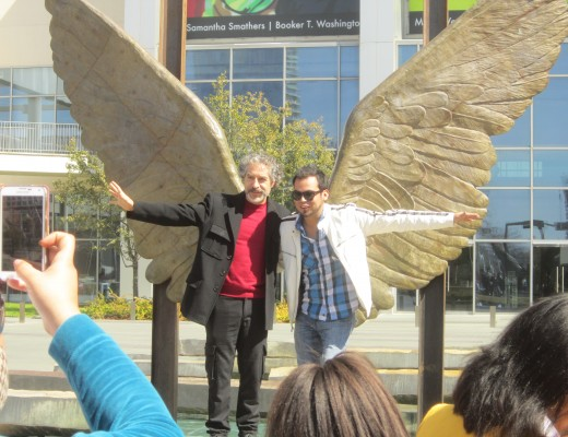 Jorge Marin's Wings of the City