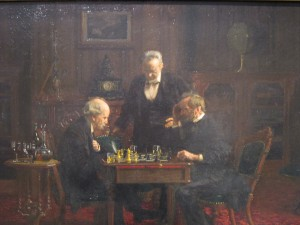 Eakins Chess Players Met American Wing