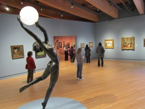 Crystal Bridges 19th Century Galleries, Photo by Eric Miller