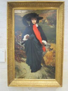Mary Sartoris by Frederic Leighton, Eric Miller Photo, Kimbell Art Museum