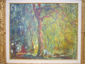 Weeping Willow by Claude Monet, Eric Miller Photo, Kimbell Art Museum