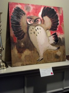 Otis Dozier Estate Sale Owl