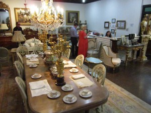 Dallas Socialite B. Ahlschlager Estate Dining