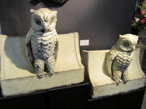 23rd Street Armory Antiques Show Owls