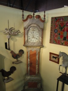 Lancaster Clock 23rd Street Armory Antiques Show