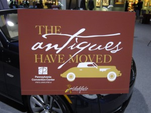 The Antiques Have Moved, Philadelphia Antiques Show