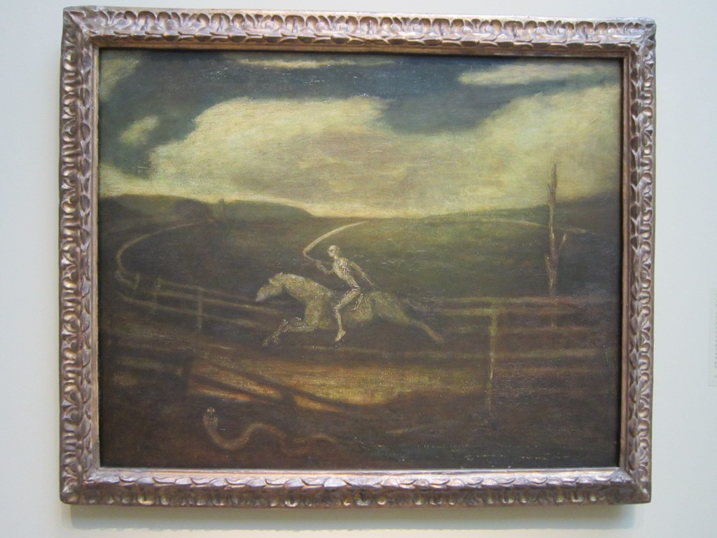 3 Albert Pinkham Ryder, The Race Track, Death on a Pale Horse, Cleveland Museum