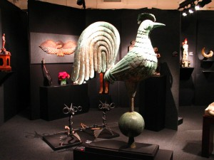 A Rooster Weathervane from Allan Katz Americana