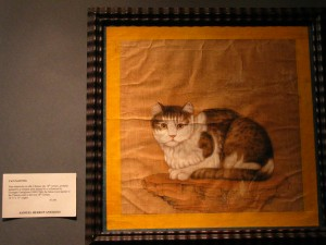 A Mysterious Cat Painting From China