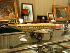 TWA Airplane model