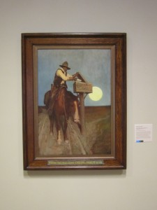 N.C. Wyeth, Rural Delivery, Cream of Wheat, Minneapolis Institute of Arts