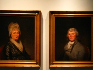 The De Peysters by Charles Wilson Peale