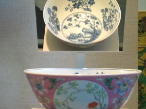 Pink Enamels Medallion Bowl from Daoguang Period at SAMA