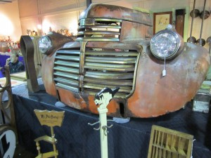John Whittemore Truck Front Ralph Willard's Tower Antiques Show