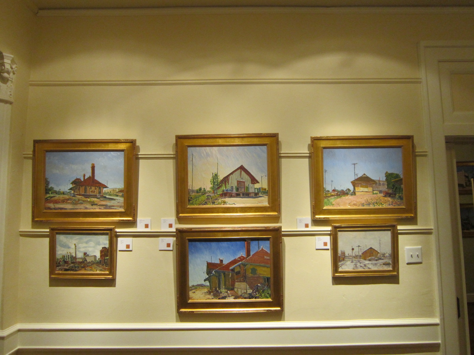 Paintings by Jack Erwin at Turner House, Dallas