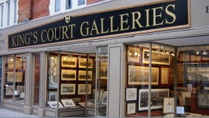 The Front of Kingscourt Galleries