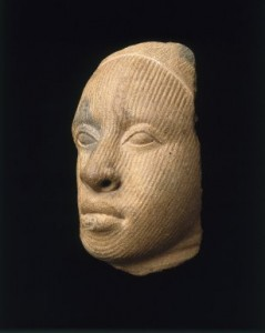 Fragment of a Head from Brooklyn Museum, fetured in the book African Art: A Century at the Brooklyn Museum