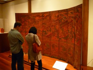 Lacquer Screen at the Met