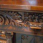 Carving on Beares Sideboard