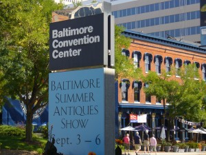 Annual Baltimore Summer Antiques Show was blessed with beautiful weather