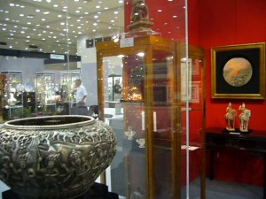 TK  Asian Antiquities booth