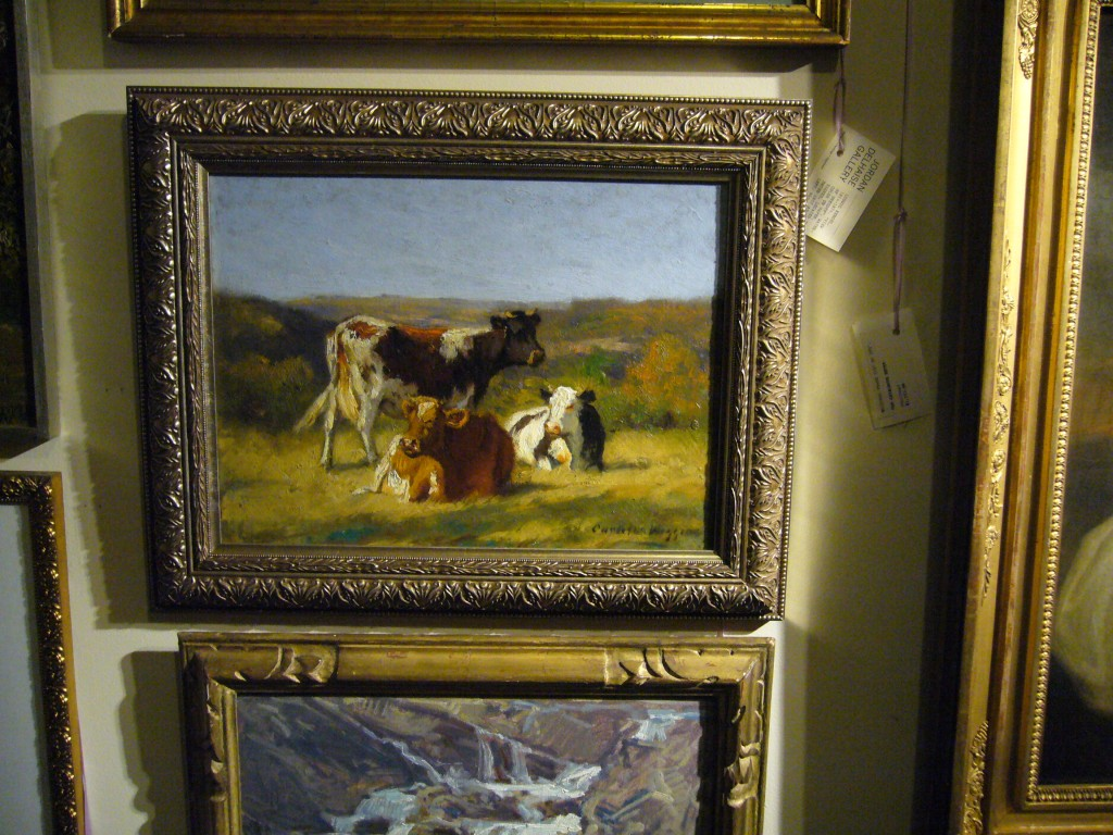 A Painting by Calton Wiggins at Main Street Antiques Center