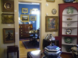 Different Rooms in Different Colors at Madeline West Antiques