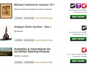 Auction houses embrace the increased attendance from online bidders