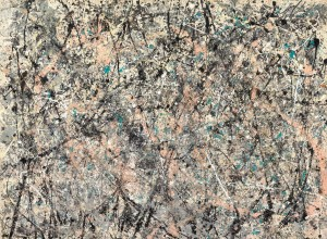 Jackson Pollock, Number 1, 1950 (Lavender Mist), 1950. Oil, enamel, and aluminum on canvas, 87 x 118 in. National Gallery of Art, Washington, D.C.