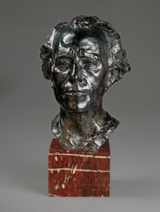 Auguste Rodin-- Gustav Mahler, 1909 Gift of Lotte Walter Lindt in memory of her father, Bruno Walter, from National Gallery of Art