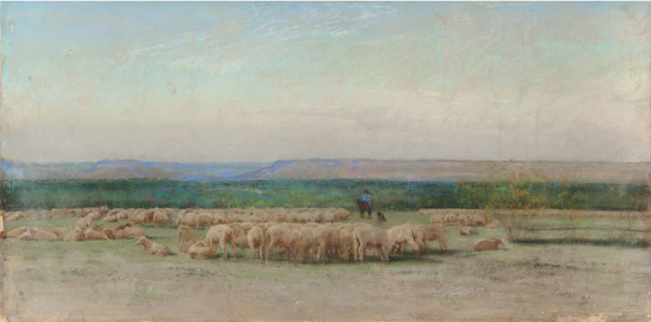 Frank Reaugh, Sheepherder's Camp, Courtesy Heritage Auctions